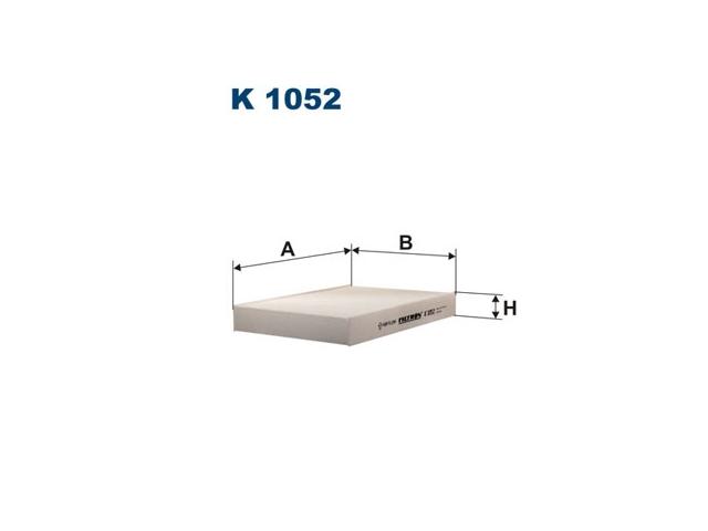 Filtr Kabiny Filtron K 1052 Clio Ii Kangoo Megane